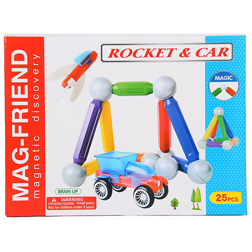 Magnetic Rocket and Car Set | Educational Toys in Dar TZ