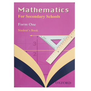Mathematics For Secondary Schools Form 1 OXFORD - Shop Online in Tanzania | Empire Greeting Cards Ltd