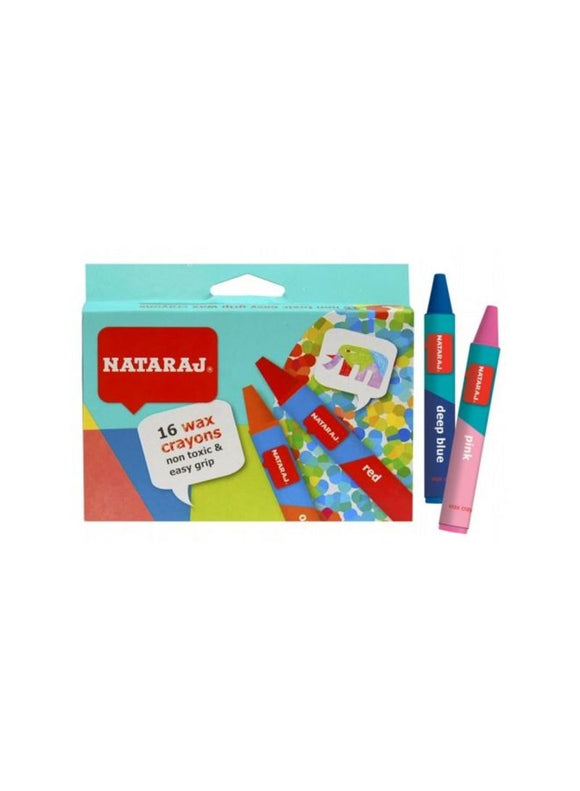 Wax Crayons 16 pc pack NATARAJ - Shop Online in Tanzania | Empire Greeting Cards Ltd