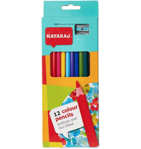 Color Pencil Long 12 pc NATARAJ - Shop Online in Tanzania | Empire Greeting Cards Ltd