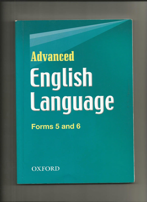 Advanced English Language Forms 5 and 6 OXFORD - Shop Online in Tanzania | Empire Greeting Cards Ltd
