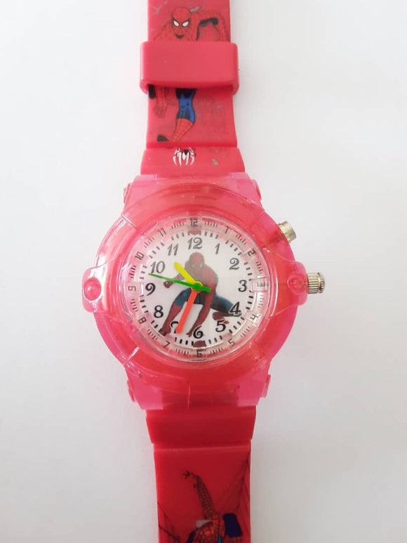 Spiderman Watch With Light | Kids Watches in Dar Tanzania