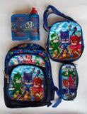 Pjmask Backpack Set With Lunch Box pencil Case | Pjmask toys in Dar