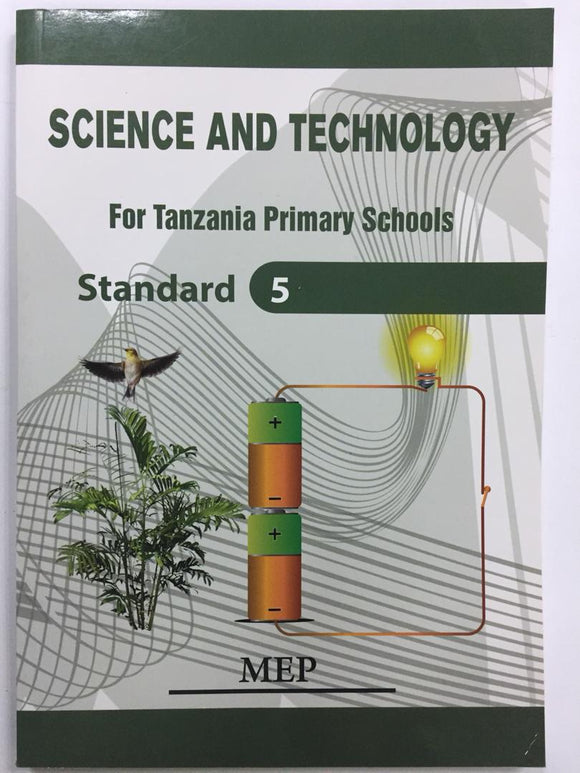 Science And Technology Standard 5 MEP - Shop Online in Tanzania | Empire Greeting Cards Ltd
