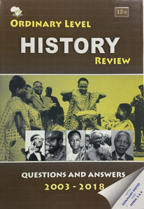 Ordinary Level History Review APE - Shop Online in Tanzania | Empire Greeting Cards Ltd