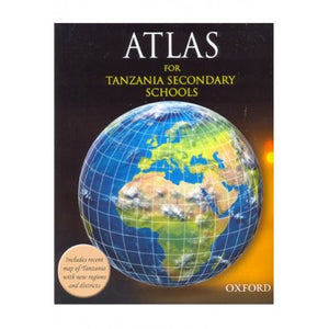 Atlas For Tanzania Secondary Schools - Shop Online in Tanzania | Empire Greeting Cards Ltd