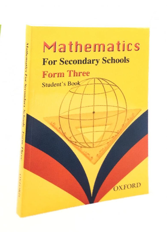 Mathematics For Secondary Schools Form 3 OXFORD - Shop Online in Tanzania | Empire Greeting Cards Ltd