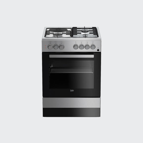 Beko Cooker 3 Gas + 1 Hot Plate 63110DX - Shop Online in Tanzania | Empire Greeting Cards Ltd