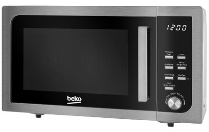 Beko Microwave 800w 23L  MOF23110 Stainless Steel - Shop Online in Tanzania | Empire Greeting Cards Ltd