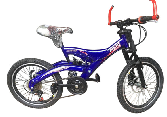 Full Suspension MTB 20inch Bicycle HURSHEN - Shop Online