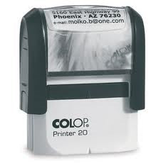 COLOP Printer 20 Self-Inking Stamps | Rubber Stamps in Dar Tanzania