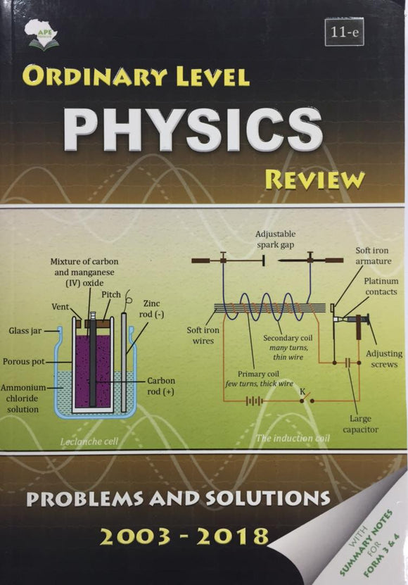 Ordinary Level Physics Review APE - Shop Online in Tanzania | Empire Greeting Cards Ltd