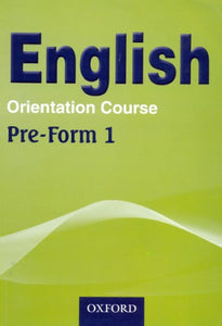 English Orientation Course Pre-Form 1 Textbook - Shop Online in Tanzania | Empire Greeting Cards Ltd