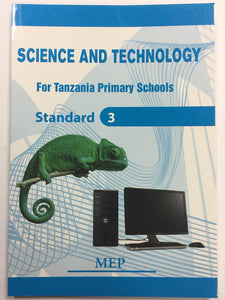 Science And Technology For Primary Schools Standard 3 MEP - Shop Online in Tanzania | Empire Greeting Cards Ltd