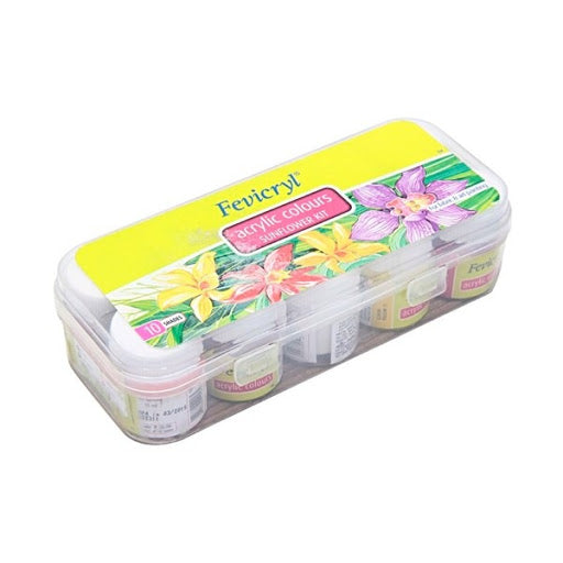 FEVICRYL Acrylic Colours 10pc Set | Fevicryl in Dar Tanzania