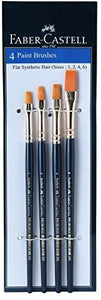 FABER CASTEL Paint Brushes 4pc | Paint Brushes in Dar Tanzania