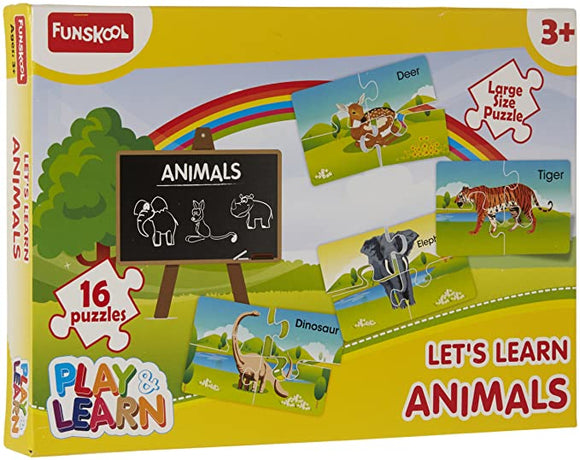 FUNSKOOL Lets Learn Animals Puzzle | Puzzles in Dar Tanzania