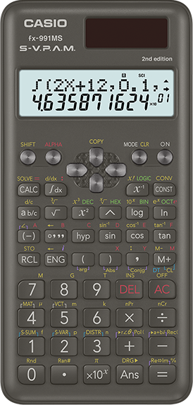 Scientific Calculator fx-991MS 2nd Edition