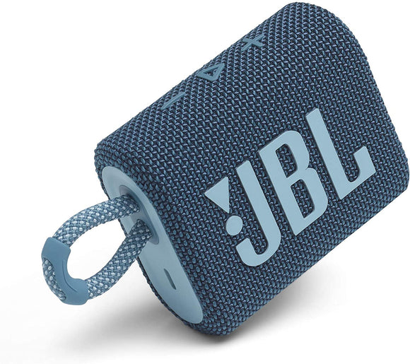 JBL GO 3 Portable Waterproof Speaker Blue | Speakers in Dar Tanzania