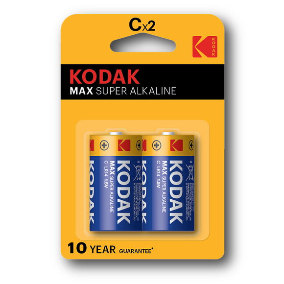 KODAK Max Alkaline battery C | Type C Batteries in Dar Tanzania