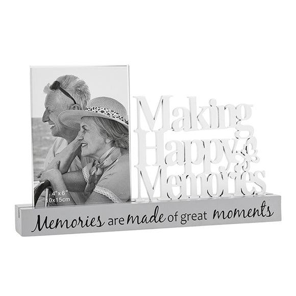 Making Happy Memories Glass Frame 4