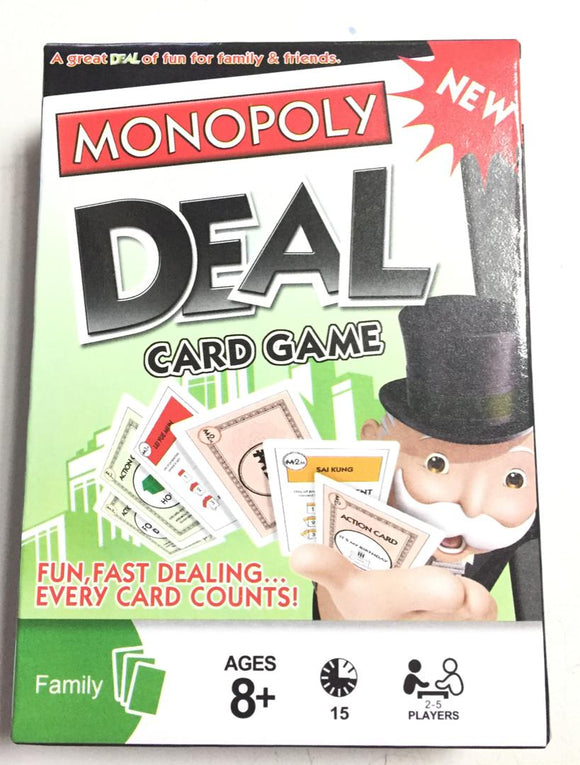 Monopoly DEAL Card Game | Monopoly in Dar