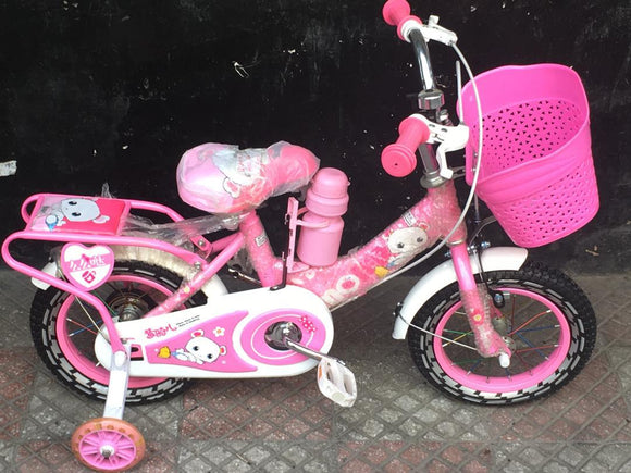 Pink teddy bicycle - Shop Online in Tanzania