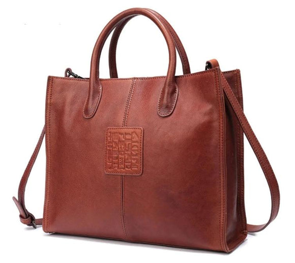 Ladies Mayan Print Faux Leather Tote Shoulderbag | Shop Online for Handbag