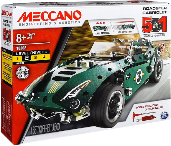Meccano 5in1 Roadster Cabriolet | Building Toys In Dar Tanzania