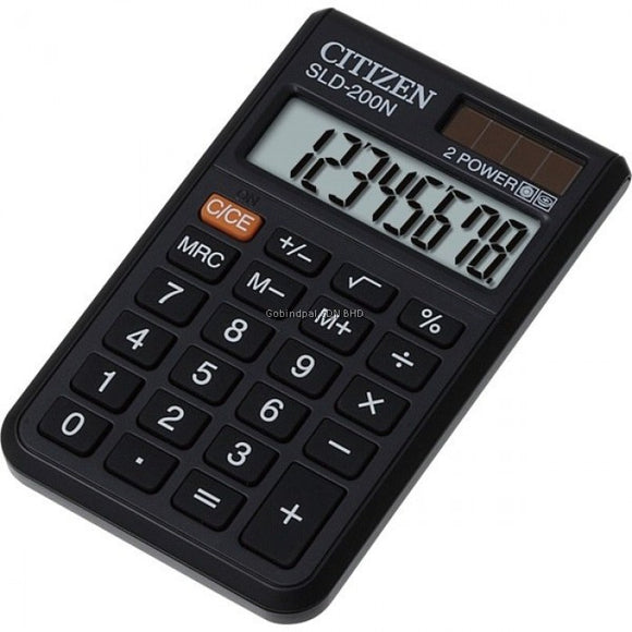 Pocket Calculator SLD 200 N CITIZEN - Shop Online in Tanzania | Empire Greeting Cards Ltd