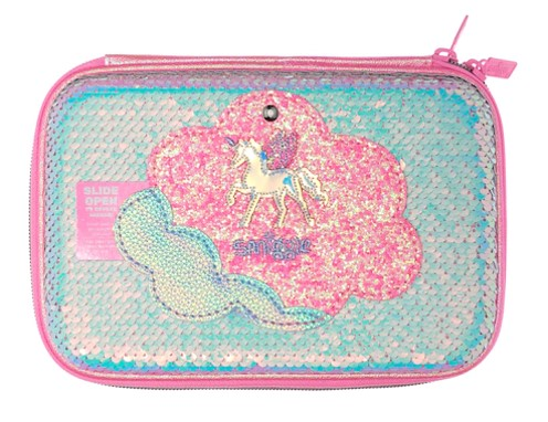 Smiggle Lunar Hardtop Sequin Pencil Case | Pencil Cases in Dsm