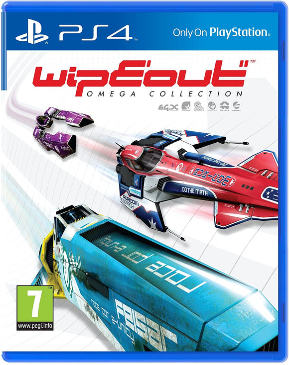 Wipeout Omega Collection Ps4 | Ps4 Games in Dar Tanzania