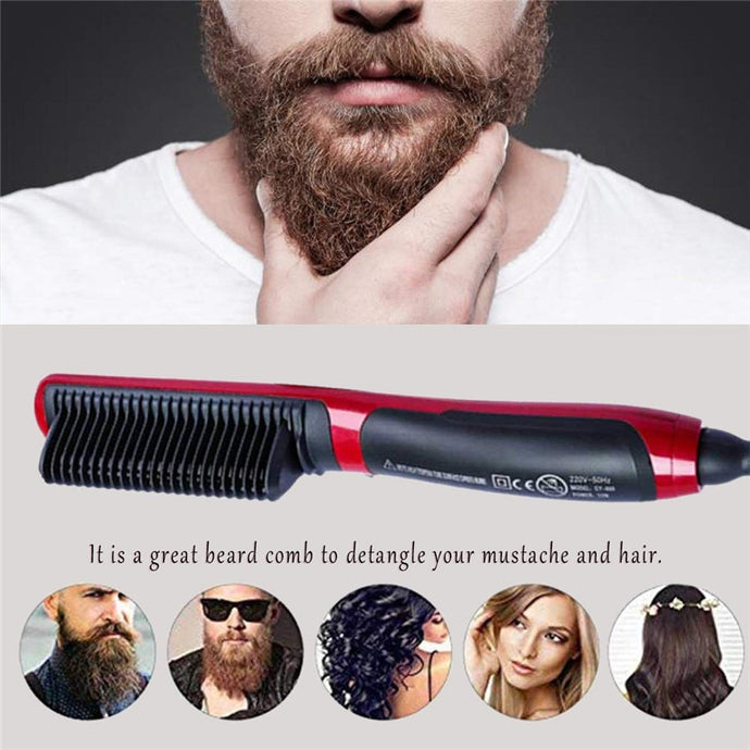 Electric Ionic Beard Straightener Comb