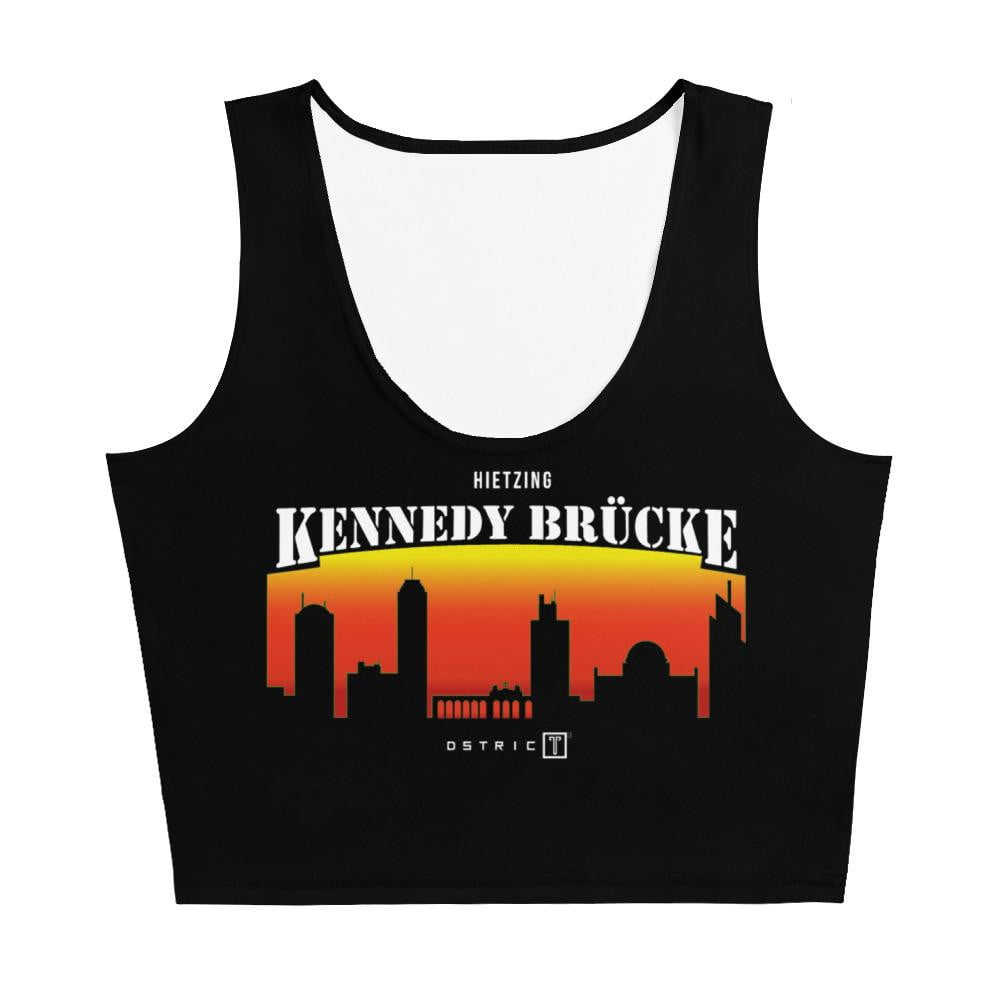 Kennedy Brücke Crop-Top - Dstrict - Wien - Vienna -  Crop-Top
