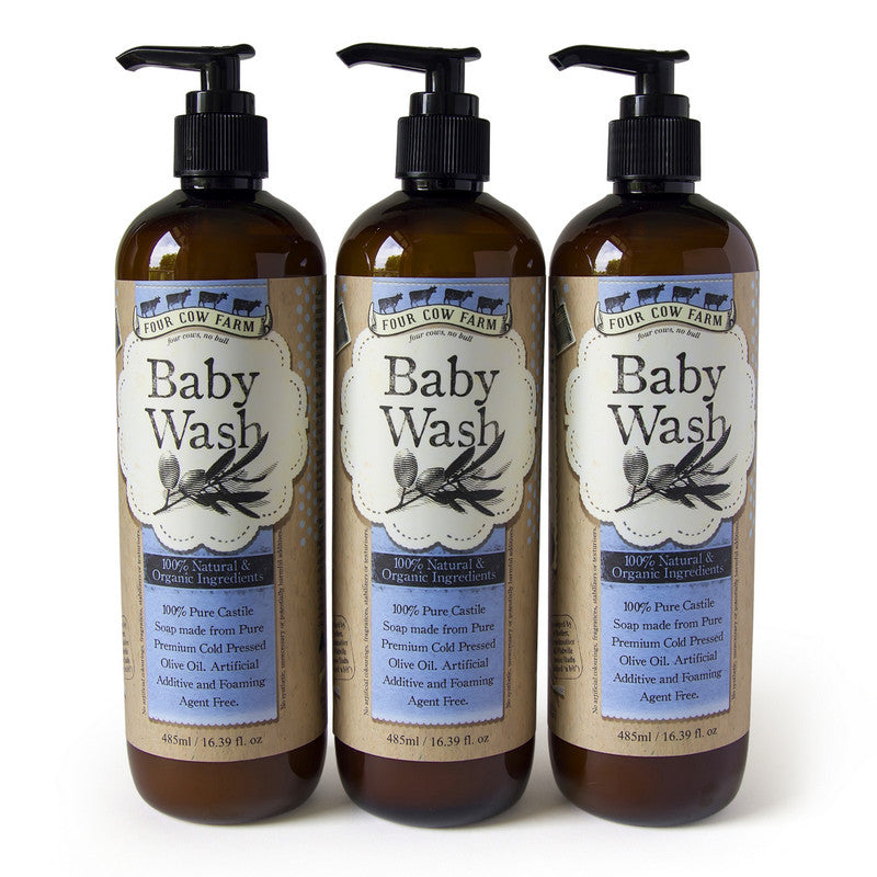 Baby Wash 485ml / 16.39 fl.oz - 3 Packs