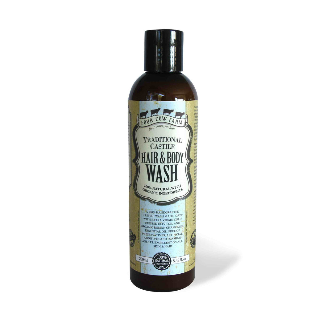 Traditional Castile Hair & Body Wash 250ml (Redemption)
