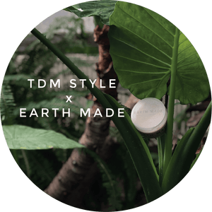 TDM Style Review - Earth Made Ultra Matte Clay Pomade