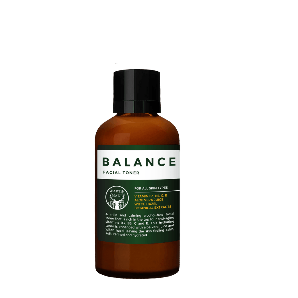 Balance Facial Toner - Earth Made - plant based, hair care and skincare for men