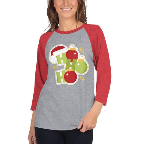 Image of Ho Ho 3/4 sleeve shirt