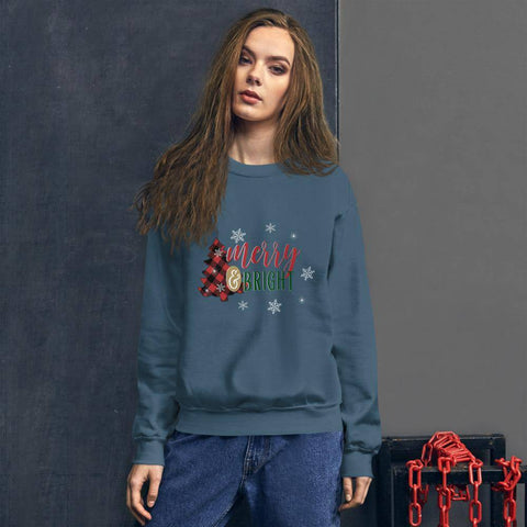 Merry E Bright Sweatshirt Unisex