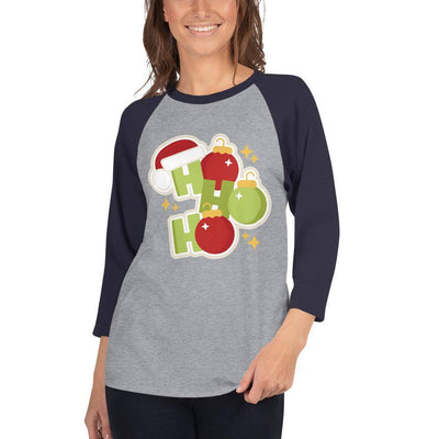 Ho Ho 3/4 sleeve shirt