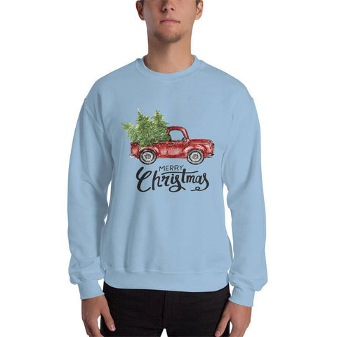 Car Christmas Unisex Sweatshirt