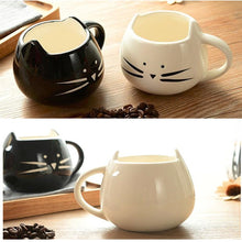 Load image into Gallery viewer, Cute Cat Mug 400ml