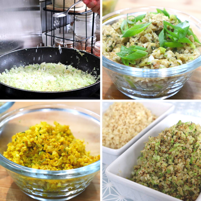 Broccoli / Cauliflower Rice (6 ways)