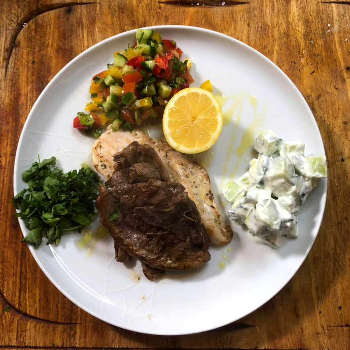 Greek Style Lamb Chops