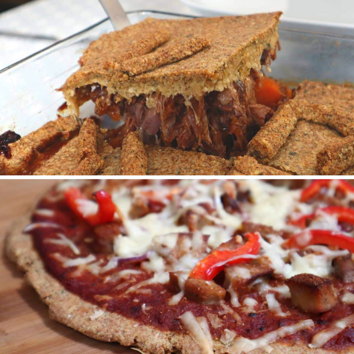Linseed Pizza Dough (Dairy Free)