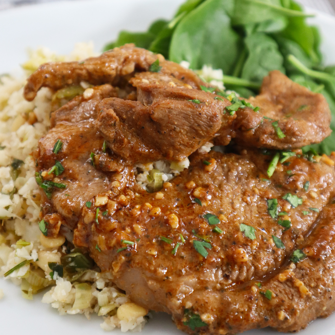 Moroccan Lamb Steaks