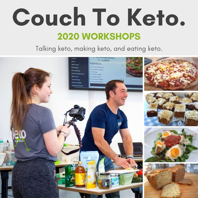 2020 Workshops - Couch To Keto