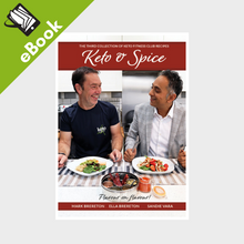 Load image into Gallery viewer, eBook: Keto & Spice Cookbook
