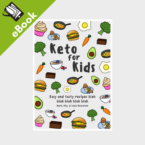 eBook: Keto For Kids Cookbook